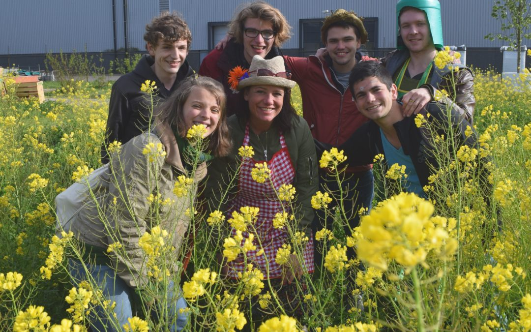 Benjamin: A joint venture called Guerilla Gardening @Tilburg