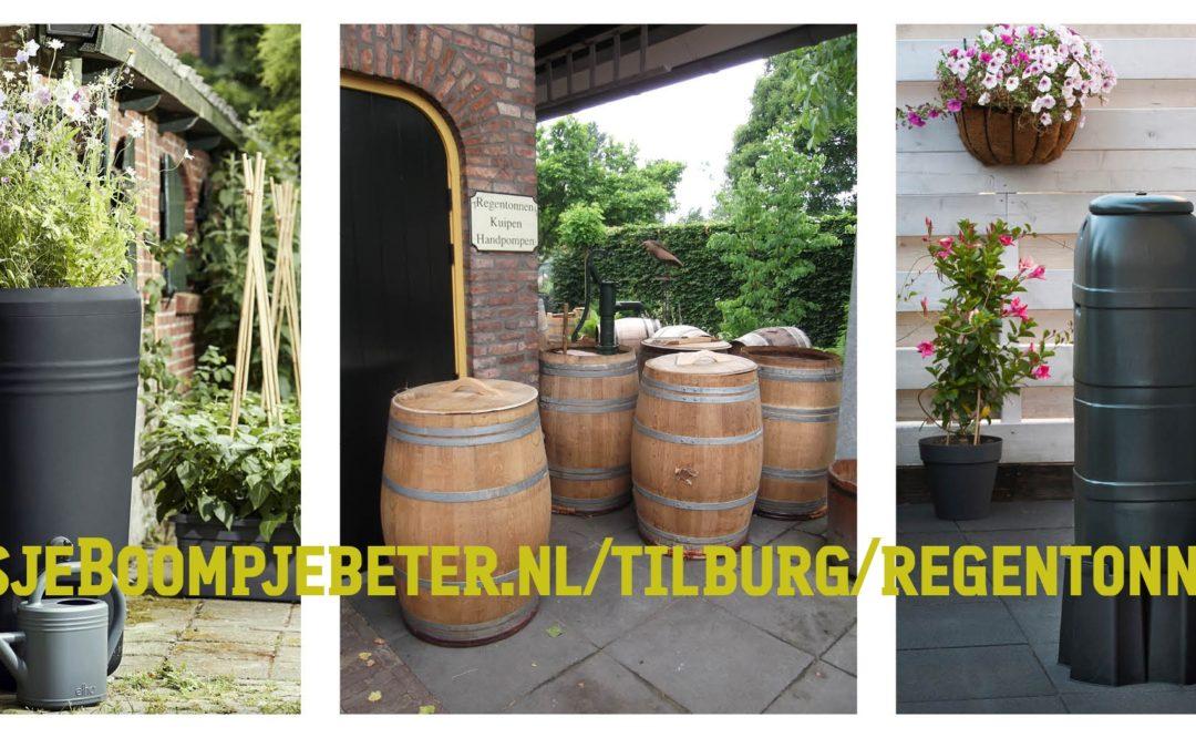 Heel Tilburg aan de (regen) TON!